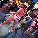 Naked Cowboy by Paul Thompson Photography