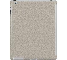 Grey Modern Abstract Pattern  iPad Case/Skin