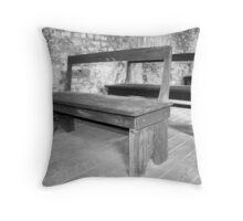 Slave Church Pews Throw Pillow