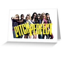 Pitch Perfect Greeting Card