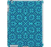 Blue Abstract Pattern iPad Case/Skin