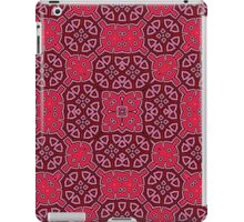 Abstract Pattern red iPad Case/Skin