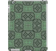 Abstract Pattern green iPad Case/Skin