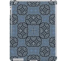 Abstract Pattern blue iPad Case/Skin