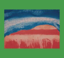 Ghost Ranch original painting Kids Clothes