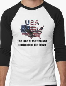 USA : The Land of The Free and The Home of The Brave T-Shirt