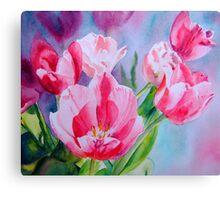 Pink Ladies #2 Canvas Print