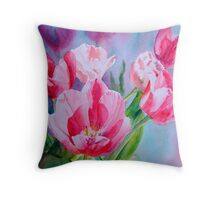 Pink Ladies #2 Throw Pillow