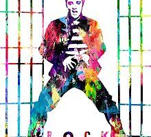 Elvis Presley Jailhouse Rock by Patricia Lintner
