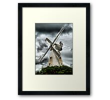 Willesborough Windmill .Ashford , Kent Framed Print