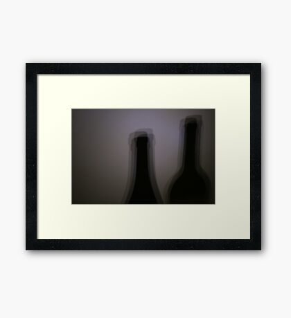Blurred Double Vision Framed Print