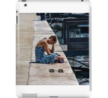 Lift Me Up   (overcome by grief and compassion)  iPad Case/Skin