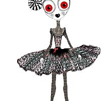Gothic Rag Doll by Helena Wilsen - Saunders