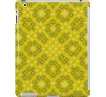 Yellow Abstract Pattern iPad Case/Skin