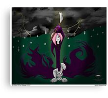 Miss Reaper's Wrath Canvas Print