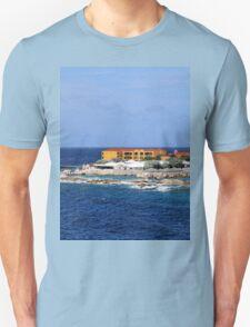 a desolate Curacao landscape Unisex T-Shirt