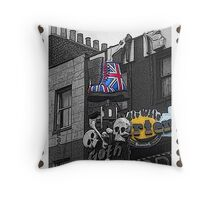 Dr Martens UK Flag Boot Throw Pillow