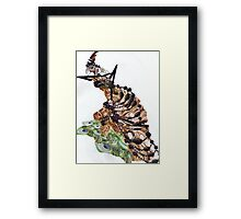 gothic witch Framed Print