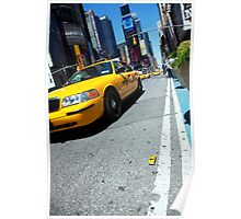 Minature New York Taxi Poster