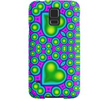 Modern abstract multicolored pattern Samsung Galaxy Case/Skin
