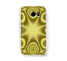 Yellow abstract pattern Samsung Galaxy Case/Skin