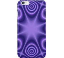 Blue Modern Pattern iPhone Case/Skin