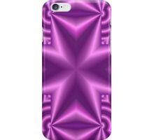 abstract Cross Purple iPhone Case/Skin