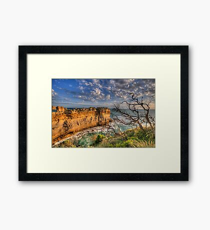 Reach For The Sky #2 - Twelve Apostles, Great Ocean Road - The HDR Experience Framed Print