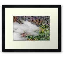 Crawling clouds Framed Print