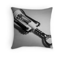 The Uncorker Throw Pillow