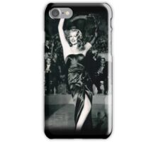 Rita Hayworth as Gilda iPhone Case/Skin
