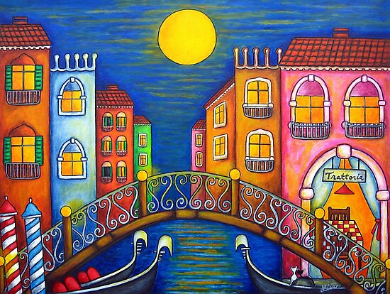 Moonlit Venice by LisaLorenz