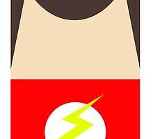 Minimal Sheldon - Flash by livinginamovie
