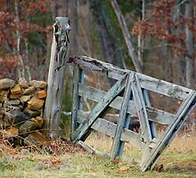 at devils den there stands a gate... by dragonphly