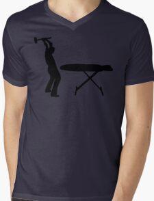 Ironing Sucks Mens V-Neck T-Shirt