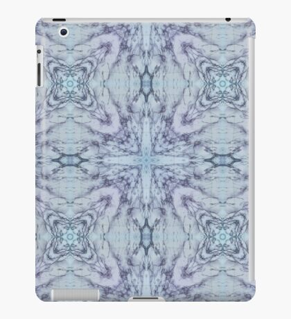 Abstract blue white Pattern iPad Case/Skin