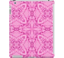 Abstract Pattern pink iPad Case/Skin