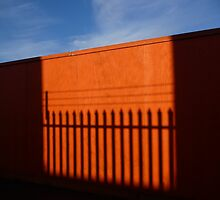 Orange Fence by Paul Davies
