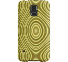 Modern yellow line pattern Samsung Galaxy Case/Skin