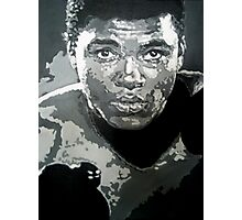 Mohammed Ali iconic pop art piece by artist Debbie Boyle - db artstudio Photographic Print