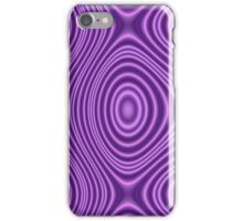 Purple decorative pattern iPhone Case/Skin