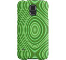 Unique green line pattern Samsung Galaxy Case/Skin