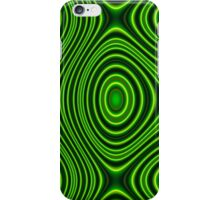 Trendy abstract pattern iPhone Case/Skin