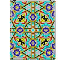Abstract modern colorful pattern iPad Case/Skin