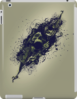 Mad Skulls by grafoxdesigns