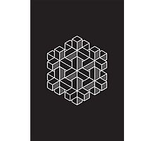 Impossible Shapes: Hexagon Photographic Print