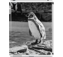 Penguin in Black & White iPad Case/Skin