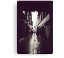 Red Light District, Soho, London Canvas Print