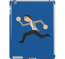 Run, Eleventh Doctor, Run! iPad Case/Skin