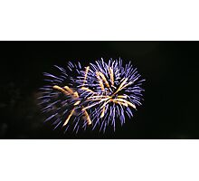 St. Andrews Day fireworks  Photographic Print